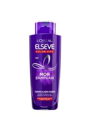 Elseve Mor Turunculaşma Karşıtı Şampuan 200 ml 0