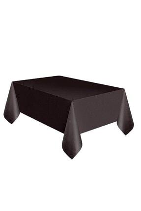 Organizasyon Pazarı Siyah Renkli 120x180 Cm Tek Kullanımlık Masa Örtüsü 0