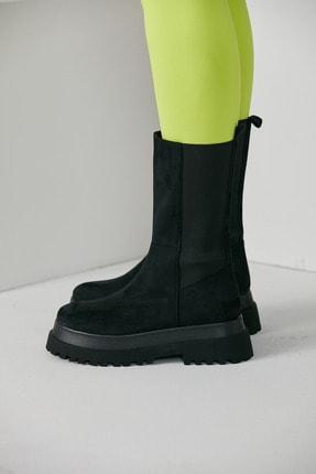 grazia shoes Kadın Siyah Bot 2