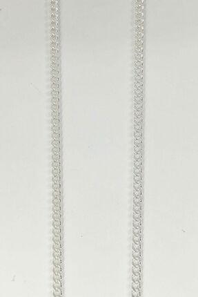 Omar Unisex Silver Gurmet 2 mm Gümüş Kolye Zincir Omr7897 2