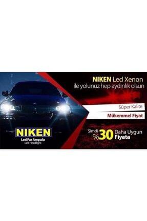 Niken H4 Led Xenon Zenon Far Ampul Yeni Nesil Evo Serisi Şimşek Etkili 3