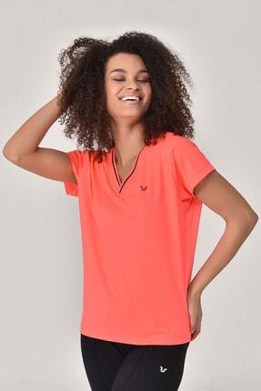 bilcee Kadın Pembe T-Shirt GS-8029 4