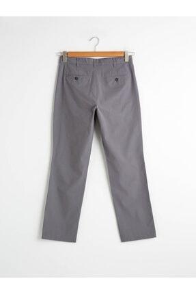 LC Waikiki Erkek Gri Chino Pantolon 1