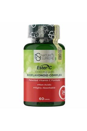 Natures Supreme Ester-c 1000 Mg C Vitamini 60 Tablet 0