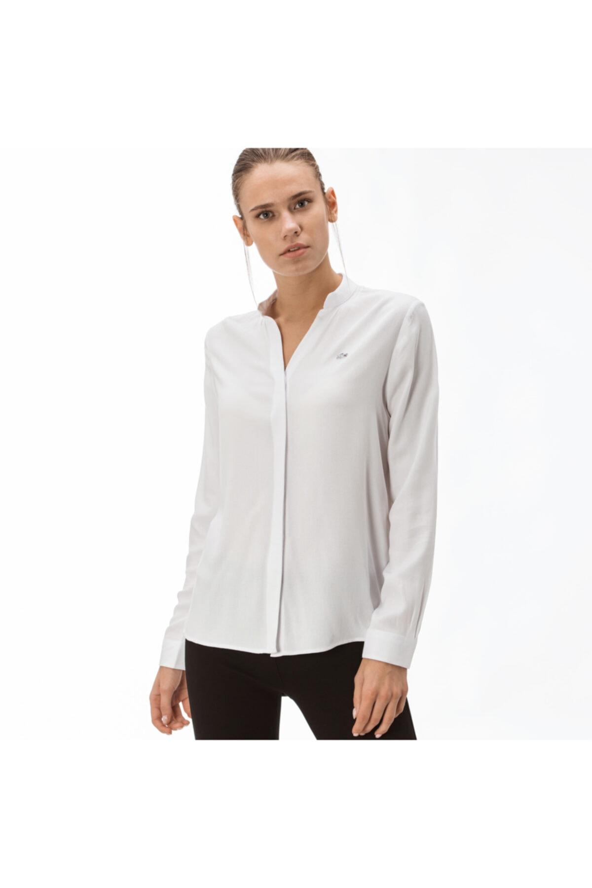 Kadın Beyaz Gömlek