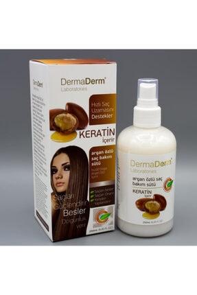 DermaDerm Argan Yağı Özlü Saç Bakım Sütü 250 Ml. 0