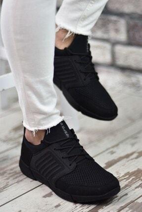 Riccon Siyah Siyah Sportz Erkek Sneaker 1