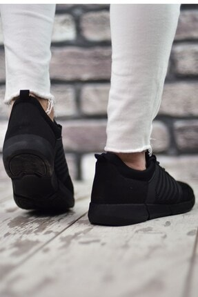 Riccon Siyah Siyah Sportz Erkek Sneaker 2