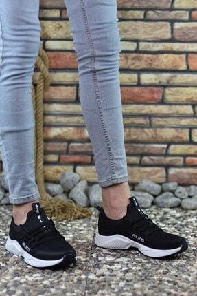 Riccon Siyah Beyaz Unisex Sneaker 2