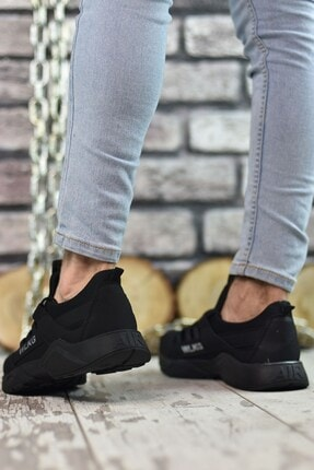 Riccon Siyah Siyah Unisex Sneaker 0012072 4
