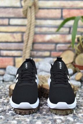 Riccon Siyah Beyaz Erkek Sneaker 00122051 3