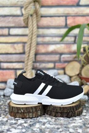 Riccon Siyah Beyaz Erkek Sneaker 00122051 4