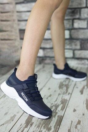 Riccon Unisex Lacivert Beyaz1 Cilt Unisex Sneaker 0012072 3