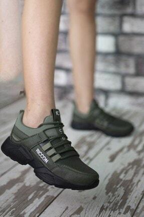 Riccon Unisex Haki Cilt Sneaker 0012072 2