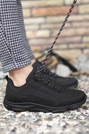 Riccon Siyah Siyah Erkek Sneaker 00121310 3