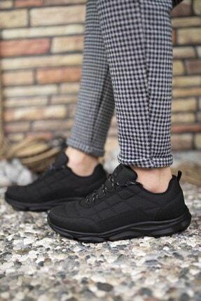 Riccon Siyah Siyah Erkek Sneaker 00121310 4