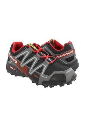 Jump Erkek Siyah Bağcıklı Outdoor  Ayakkabı 3