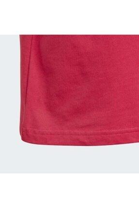 adidas Çocuk Pembe Orginals Logo T-Shirt 3