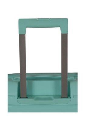 Grande Su Yeşili Ground Silikon Kırılmaz Pp Orta Boy Valiz 2