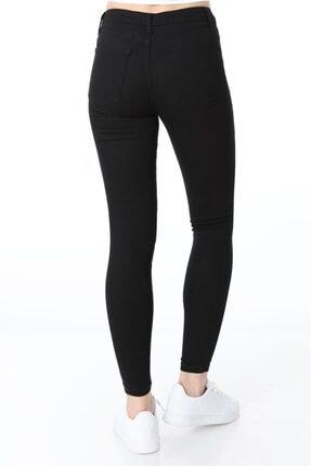 ZİNCiRMODA Kadın Siyah Yüksek Bel Dar Paça Kot Pantolon 3
