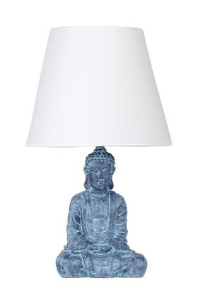 Modern Dizayn Buda Abajur Antrasit-Beyaz qdecabjbuda001