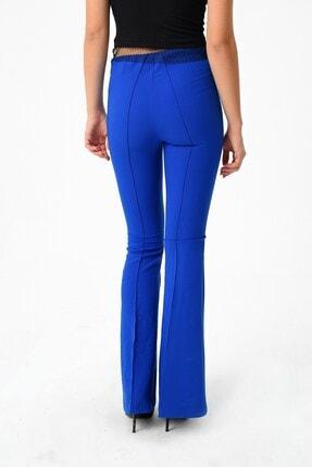 Jument Kadın Saks Mavisi Pantolon 2412 2