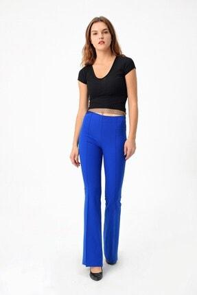 Jument Kadın Saks Mavisi Pantolon 2412 3