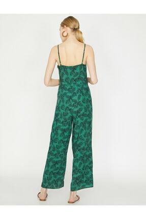 Koton Kadın Yeşil Desenli Tulum 9YAK48659PW 3