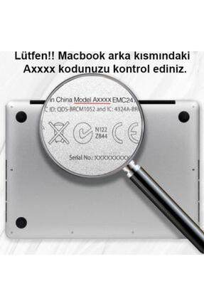 KIZILKAYA Apple Macbook Pro 2020 A2338 Beyaz 13 Inç Touch Bar Sert Kapak Koruma Kılıf 2