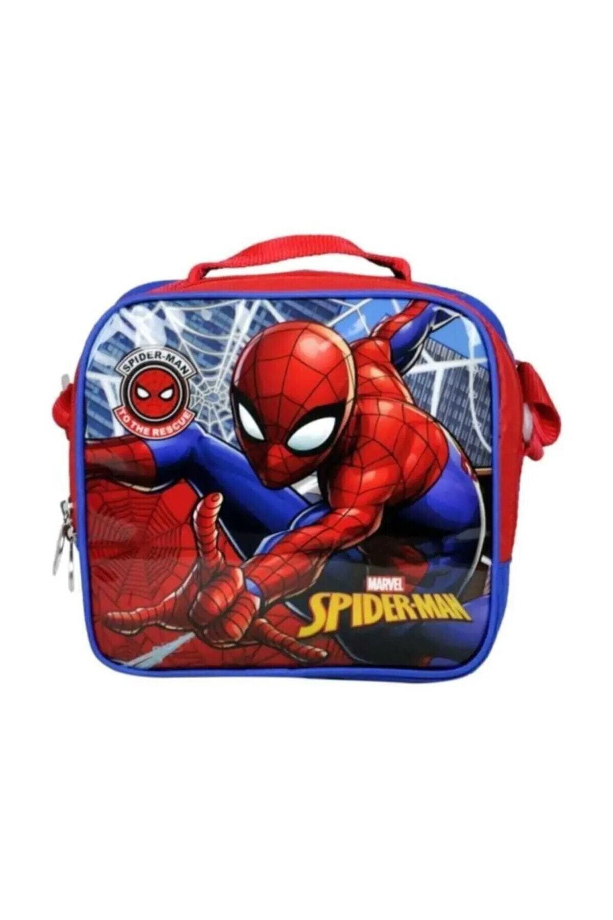 Mavi Spiderman Lisanslı Beslenme Çantası