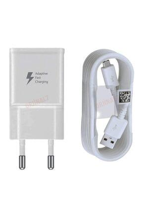 Samsung Galaxy J2 J3 J5 J7 - A3 A5 A7 - Note 2 4 5 - S6 S7 Edge Orjinal Hızlı Şarj Aleti Cihazı Kutulu Ithal 0