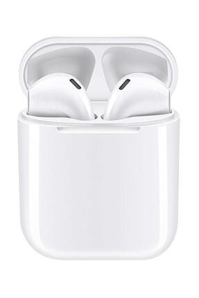 Tws Airpods I12 Beyaz Iphone Android Universal Bluetooth Kulaklık Hd Ses Kalitesi 0