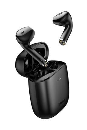Baseus W04 Tws Siyah Kablosuz Bluetooth 5.0 Kulaklık 3