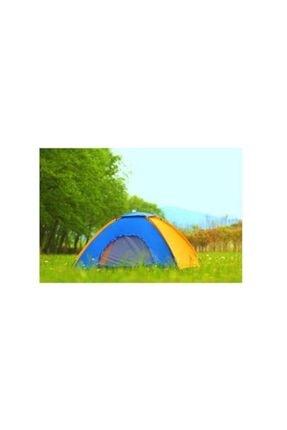 Onetick 4 Kişilik Renkli Dayanıklı Kamp Çadırı 200x200x135 1
