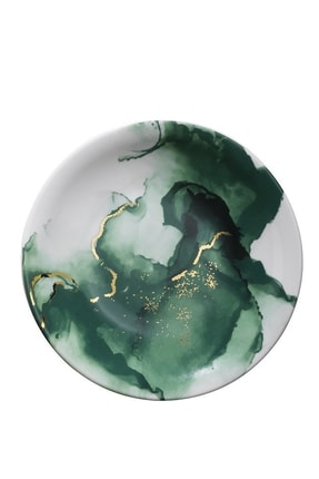 Kütahya Porselen Altın Varaklı 24 Parça Dekor Yemek Takımı 3