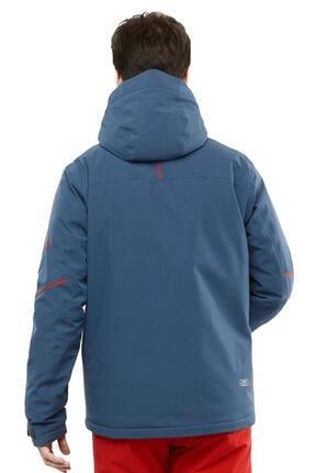 Salomon Erkek Mavi Edge Kayak Ceketi Tekstil Lc1396600 2