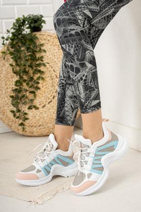 Moda Değirmeni Kadın Bebe Mavi  Sneaker Ayakkabı  Md1054-101-0001 1