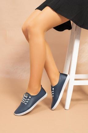 Kadın Lacivert Ayakkabı 4073E Lacivert