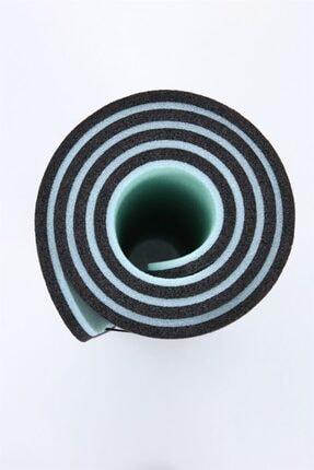 Dafron Turkuaz Siyah Yoga Mat 180 X 60 X 1,6 cm Df200 2