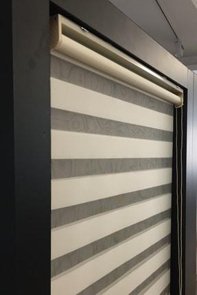 CLARISS HOME Krem Etek Modelli Zebra Perde 2