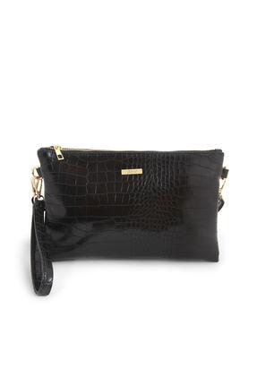 Coquet Kadın Siyah Pearly Clutch Çanta-19g3u13n001 0