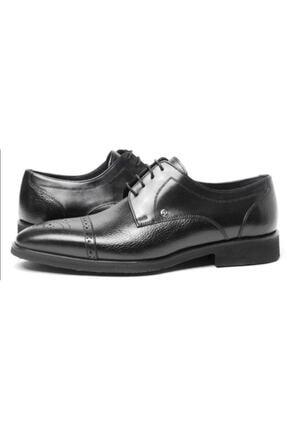 Erkek Deri Ayakkabı Pierre Cardin Siyah Hakiki Deri Ayakkabı