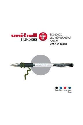 Unibal Uni-ball Signo Dx 0.38 Jel Kalem - Mavi 0