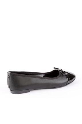 Kemal Tanca Kadın Siyah Vegan Babet Ayakkabı 781 At95 Bn Ayk Sk20-21 2