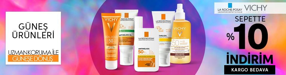 La Roche Posay & Vichy Güneş Ürünleri
