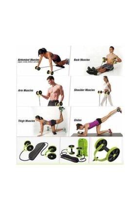 Dragon Fit Flex Fitness Tekerlekli Fonksiyonel Egzersiz Spor Aleti,lastikli Karın Kası Geliştirme 1