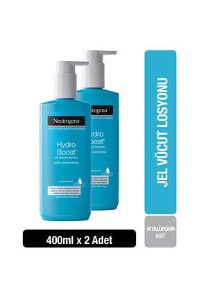 Neutrogena Hydro Boost Vücut Losyonu 400 ml  x 2 Adet 0