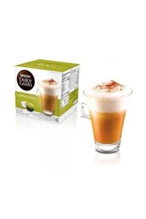 Nescafe Dolce Gusto Cappuccino 16 Kapsül 0
