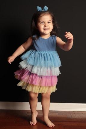 تصویر از Rainbow Baby Elbise Mavi