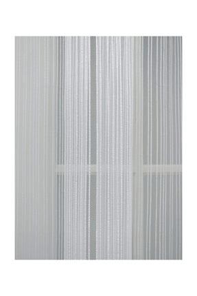 Esse Home Düz Çizgili Örme Tül Perde, 200x250, Normal Pile, 1/2.5 4